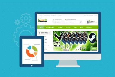 diseño sitio web zonalatinos